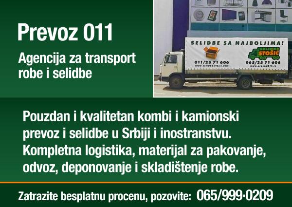 Prevoz011  |  Agencija za transport i selodbe