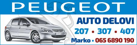 Peugeot auto delovi