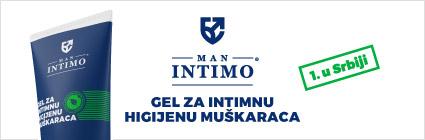 Man Intimo - gel za intimnu higijenu muškarca