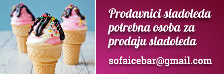 Prodavnici sladoleda potrebna osoba za prodaju sladoleda