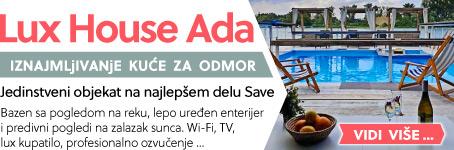 Lux House Ada    Jedinstveni objekat na najlepšem delu Save ...