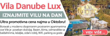 Vila Danube Lux  | Ultra promotivna cena najma u Oktobru ...
