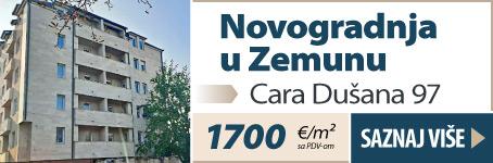 Novogradnja u Zemunu, Cara Dušana 97