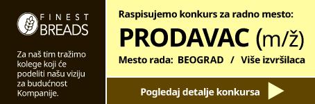 Roggenart raspisuje konkurs za radno mesto: Prodavac (m/ž)