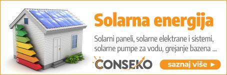 Conseko  •  Solarni paneli, solarne elektrane, pumpe za vodu, grejanje bazena ...