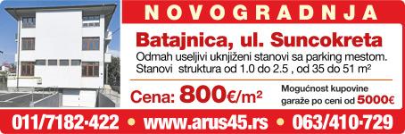 """""""Arus 45"""" nekretnine"""
