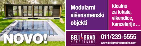 Modularni višenamenski objekti - idealno za lokale, vikendice, kancelarije ...