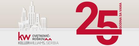 Cvetković Roškov / Keller Williams Serbia  •  25 godina sa vama