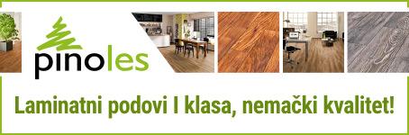 Pinoles - Laminatni podovi I klasa, nemački kvalitet