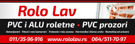 Rolo Lav - PVC i ALU roletne, PVC prozori