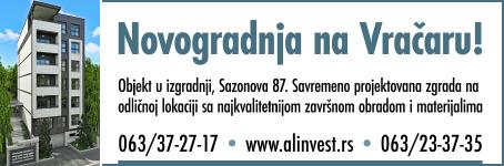 Novogradnja na Vračaru - AL invest