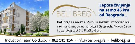 Beli breg - Novogradnja u Rumi