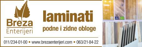 Breza enterijeri / Laminati, podne i zidne obloge