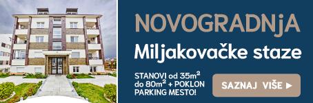 BG | PROJEKT • Novogradnja na Miljakovcu
