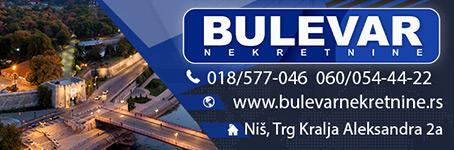 Bulevar nekretnine - Niš. Pouzdana agencija za zastupanje Vaših interesa.