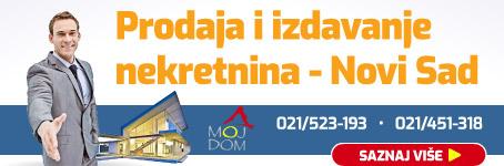 Prodaja i izdavanje nekretnina u Novom Sadu