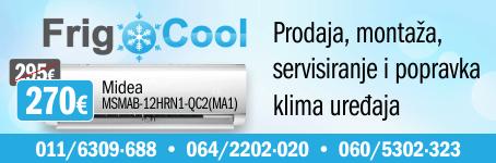 Frigo Cool / Prodaja, montaža i servis klima uređaja