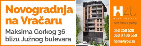 Novogradnja na Vračaru - Maksima Gorkog 36