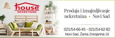 Prodaja i iznajmljivanje nekretnina  •  Novi Sad