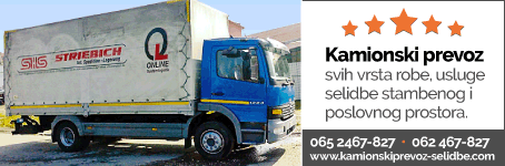 Kamionski prevoz - Selidbe