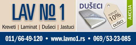 LAV No1  |  Kreveti | Laminat | Dušeci | Jastuci