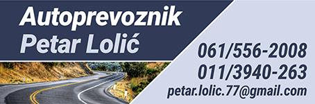 Autoprevoznik Petar Lolić