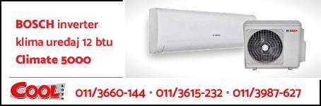 Bosch inverter klima uređaj 12 btu CLIMATE 5000