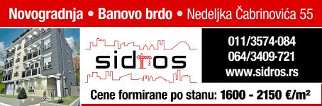 Novogradnja • Banovo brdo • Nedeljka Čabrinovića 55