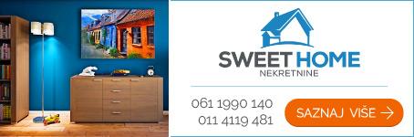Sweet Home nekretnine  |  Prodaja i izdavanje nekretnina