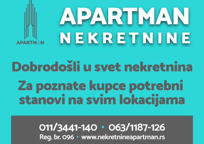 Apartman nekretnine