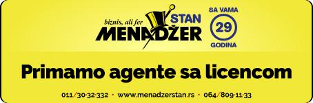 Kompaniji Menadžer potrebni agenti sa licencom