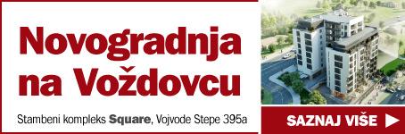"Novogradnja na Voždovcu  /  Stambeni kompleks ""Square"", Vojvode Stepe 395a"