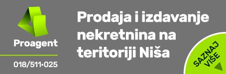 Prodaja i izdavanje nekretnina na teritoriji Niša