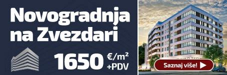 Novogradnja na Zvezdari - Stambeni kompleks BulevarD