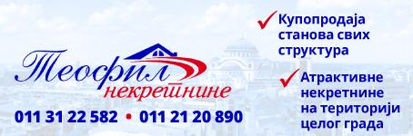 Teofil nekretnine  |  Kupoprodaja stanova svih struktura