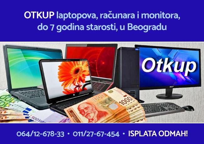 Otkup laptopova, računara i monitora