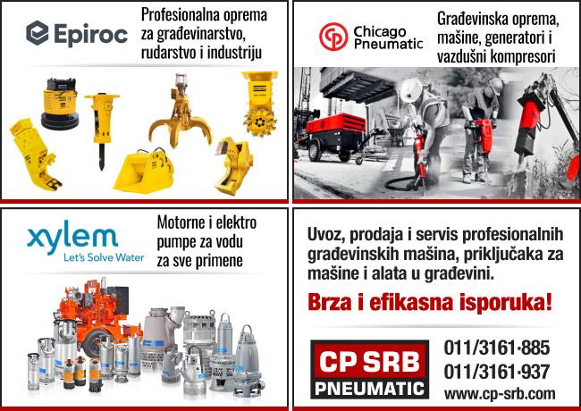 CP SRB Pneumatic - Građevonske mašine i alati