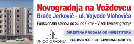 Novogradnja na Voždovcu - UNICO GRADNJA