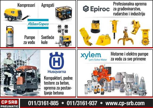 CP SRB Pneumatic - Građevinske mašine i alati