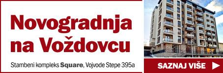 Novogradnja na Voždovcu  /  Stambeni kompleks Square, Vojvode Stepe 395a