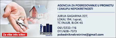 Pobednik - Agencija za posredovanje u prometu i zakupu nepokretnosti
