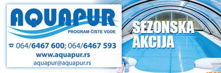 Aquapur bazeni - Sezonska akcija!