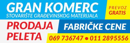Gran komerc - Stovarište građevinskog materijala