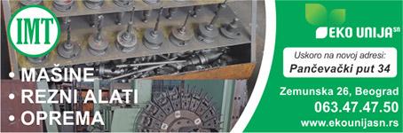 Eko unija - Mašine, oprema, delovi, alati ...