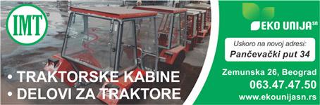 Eko unija - Delovi i kabine za traktore