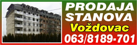Prodaja stanova Voždovac - Zemun
