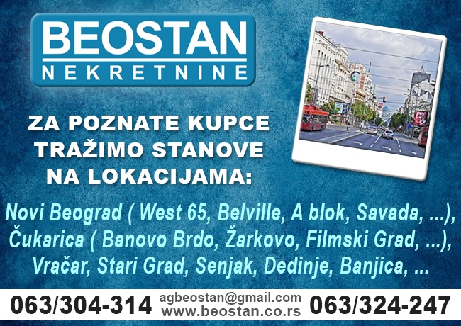 Beostan - Prodaja stanova