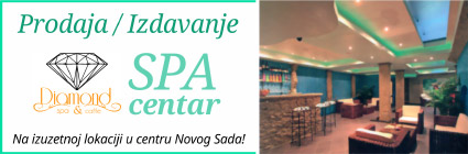 Diamond SPA - Prodaja / Izdavanje