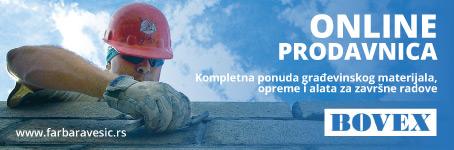 Bovex - OnLine prodavnica građevinskog materijala