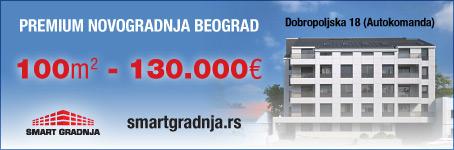 Premium novogradnja u Beogradu